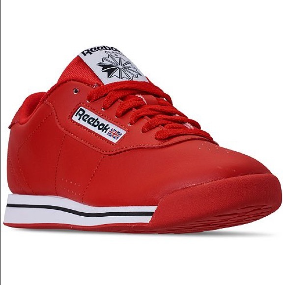 Reebok Shoes - Reebok princess classic sneakers red size 10 EUC